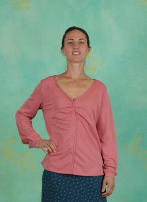 Bluse, Fardou, coral-pink