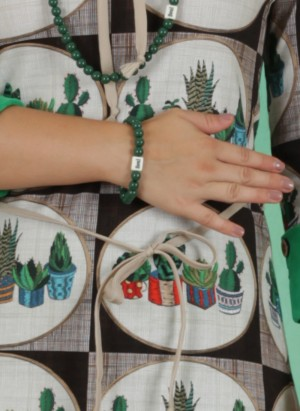 Armband, Green Soul, green