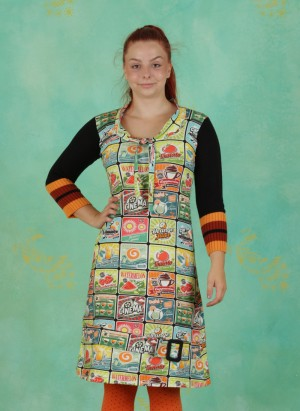 Kleid, Kelly Coffeeshop, multi