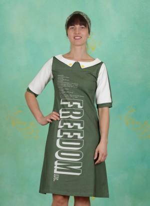 Kleid, Femme Freedom, green-multi
