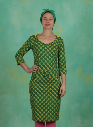 Kleid, Kit Kissmark, flower-green