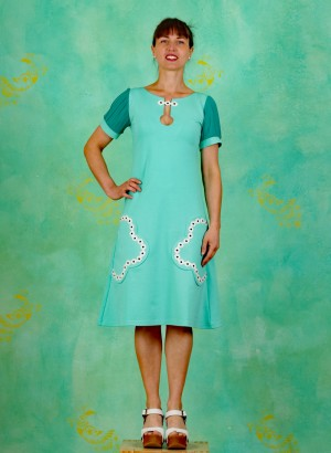 Kleid, Betty Bloomster, turquoise