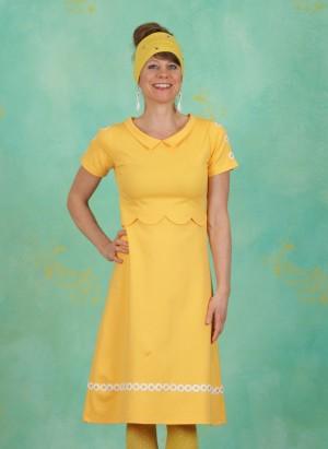 Kleid, Liv Sonnenhot, yellow