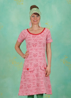 Kleid, B. Reallynice, pink-red