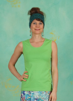 Top, Dafni Jersey, green