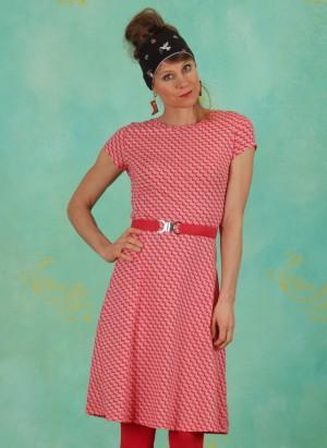 Kleid, G11107B, red