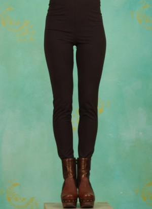 Leggins, J0005, dark-brown