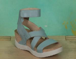 Schuhe, Wado, pale-blue
