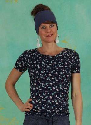 Shirt, S20C26, blue-multi