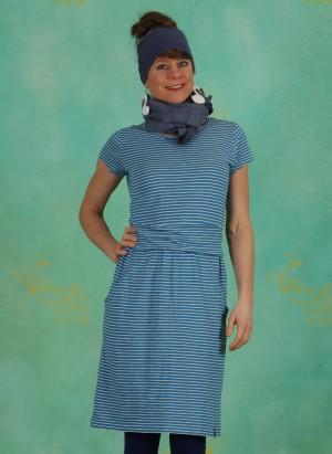 Kleid, S20E39, blue-stripes