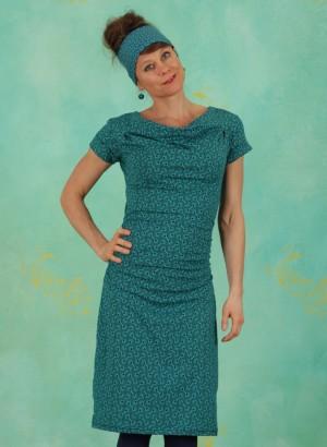 Kleid, S21E32, turquoise-blue