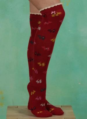 Strümpfe, Scottie Knee, red