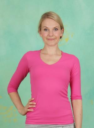 Shirt, Sylvia-3-2, fuchsia