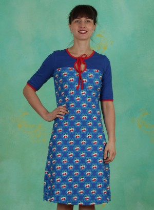 Kleid, TBP3825, blue