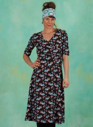 Kleid, TBP4353, black (fällt größer aus)
