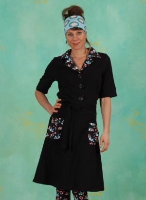 Kleid, TBP4359, black
