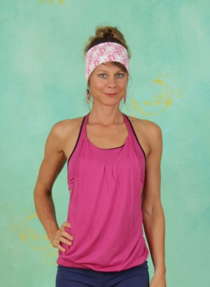 Top, Soft Overlay Top, pink