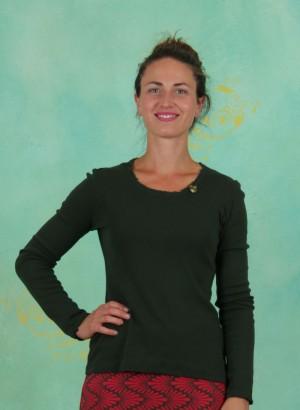 Shirt, Tabitha, hunter-green