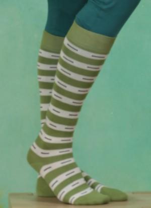 Kniestrümpfe, Hariboo, green