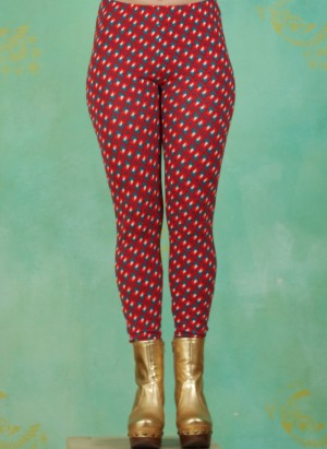Leggins, Meduna, red