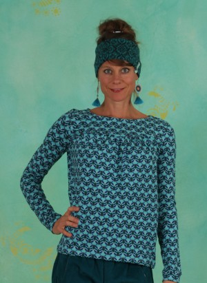 Shirt, W20C23, blue-multi