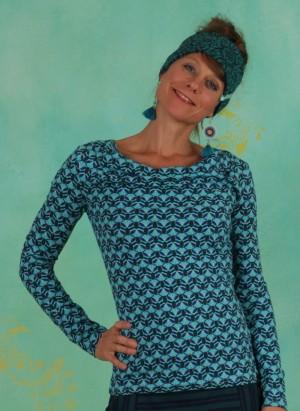 Shirt, W20C37, blue-multi