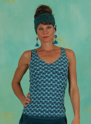 Shirt, W20C38, blue-multi