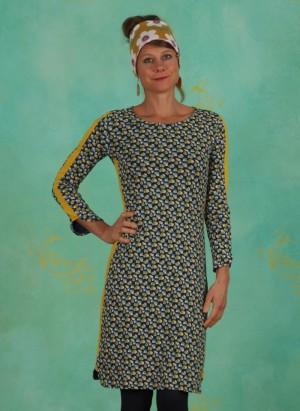 Kleid, W20E24, blue-yellow