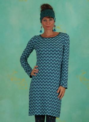 Kleid, W20E27, blue-multi