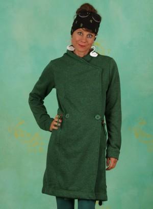 Fleece-Mantel, W21A15, green
