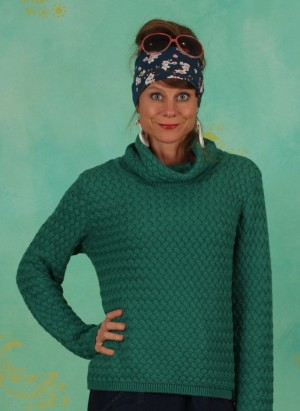 Pullover, W21C13, green