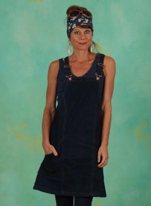 Kleid, W21E14, blue-denim