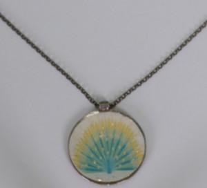 Kette, Necklace 80cm long with Pendant, ch2750s