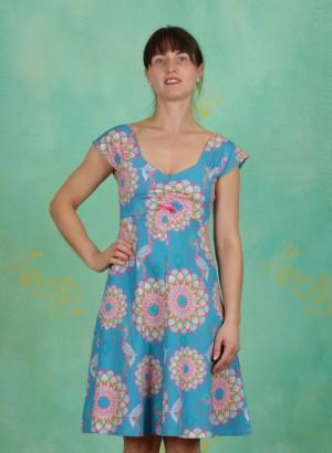 Kleid, Amy, mandala-turquoise