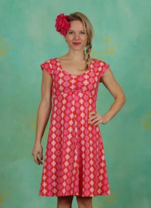 Kleid, Amy, retro-red