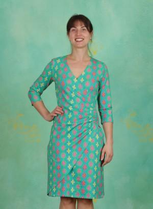 Kleid, BA ¾, retro-green