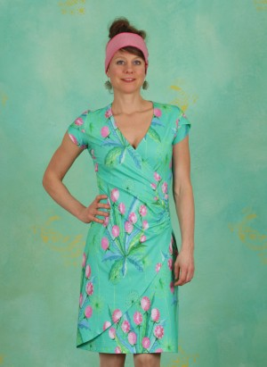 Kleid, BA Cap, dandelion-jade