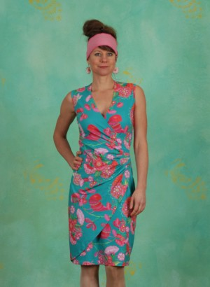 Kleid, BA Sleeveless, birdy-jade