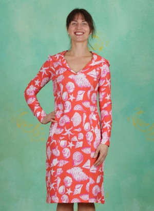 Kleid, Santiago, shell-orange