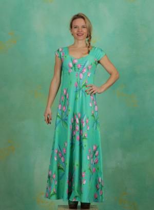Kleid, Sitges, dandelion-jade