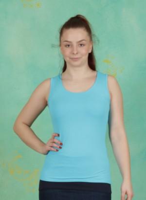 Top, Zaza-3-0, bleu-turquoise
