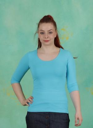 Shirt, Zaza-3-2, bleu-turquoise