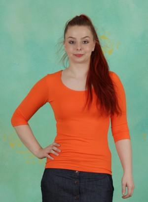 Shirt, Zaza-3-2, orange