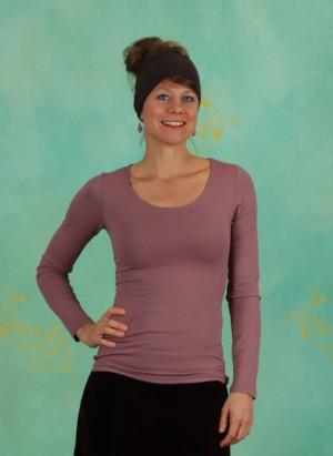 Shirt, Zaza-3-3, prune