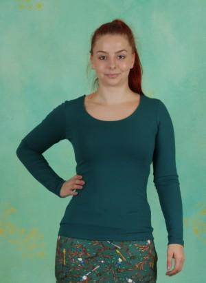 Shirt, Zaza-3-3, vert-sapin