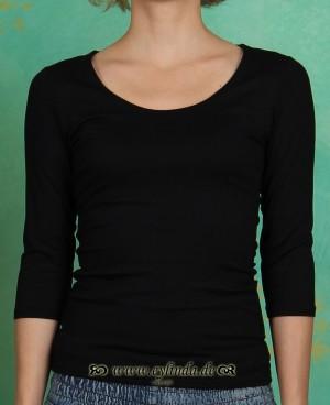 Shirt, Zaza, noir
